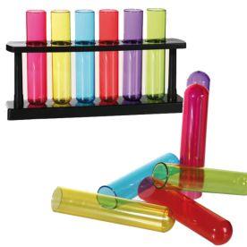 rainbow test tube rack